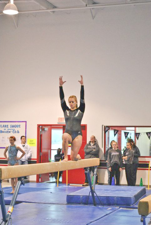 Courtesy Photo / GVSU Gymnastics