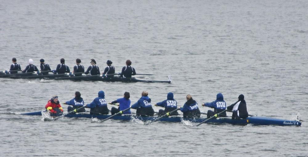 GVL Archive / Eric CoulterWomen's team in an eight pulling at the Lubber's Cup
