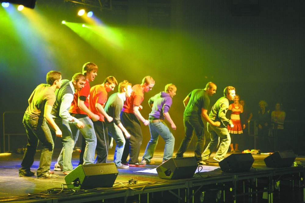 Homecoming Lip Sync Spooks Thrills Grand Valley Lanthorn