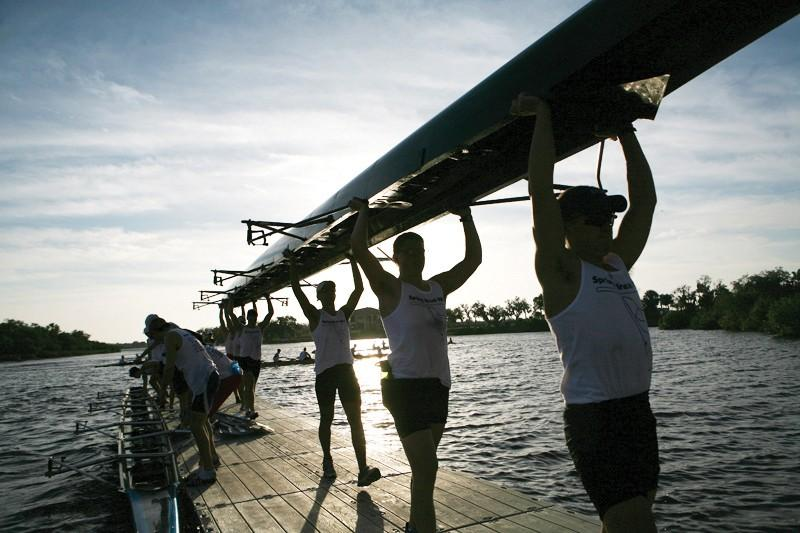 GVL / ArchiveGrand Valley Rowing Team preparing for their upcoming season.
