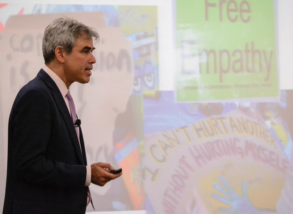 GVL / Hannah Mico. Jonathan Haidt, author of