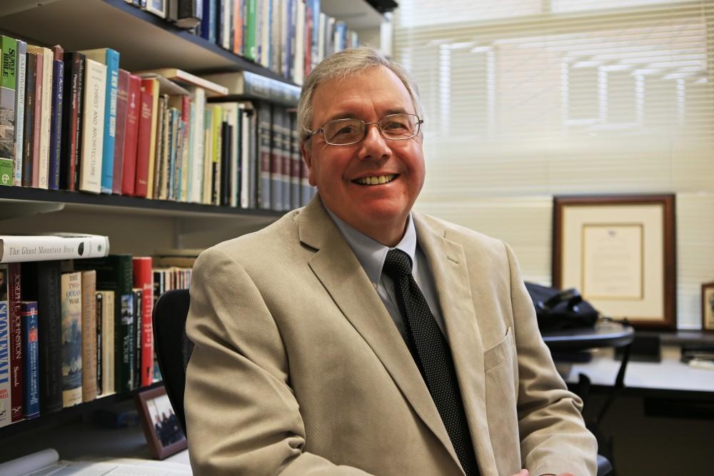 GVL/Kevin SielaffDr. Jonathan White, professor of interdisciplinary studies.