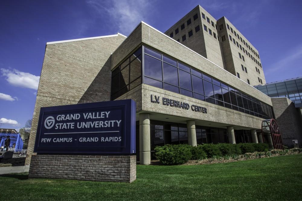 GVL/Spencer MillerThe Eberhard center at GVSU's Pew campus has a Peruvian art exhibit until July 31, 2015.