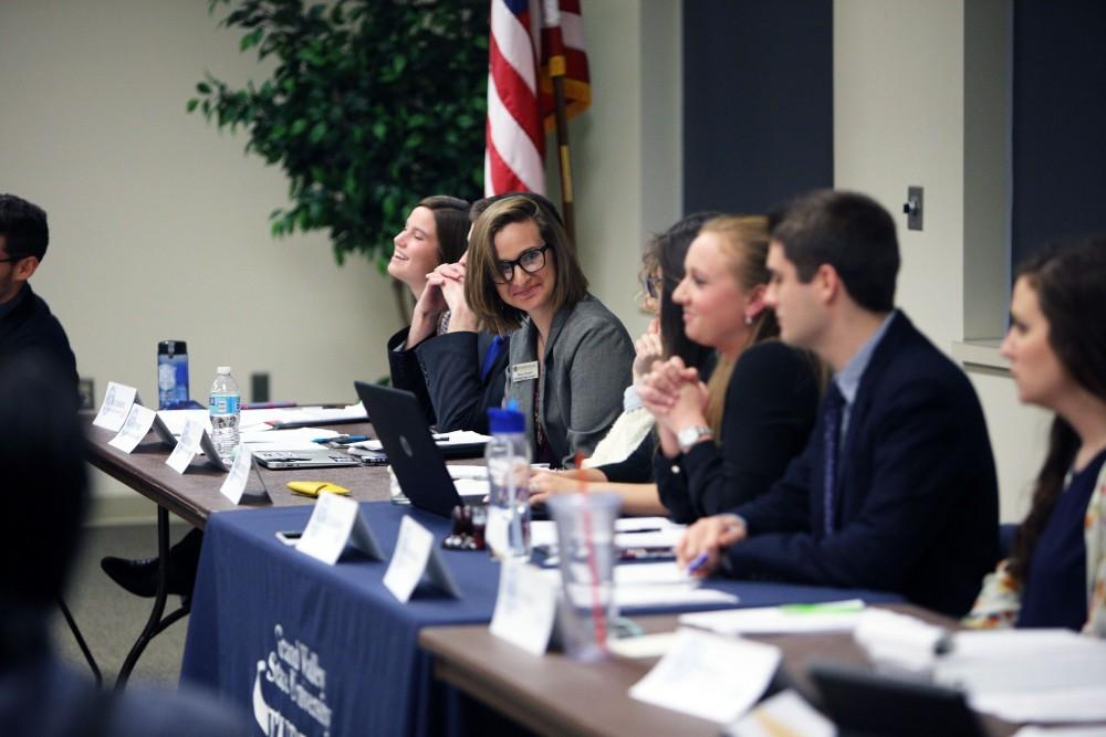 GVL / Emily Frye Student senate Vice President of Educational Affairs, Maria Beelen on Nov. 19th.
