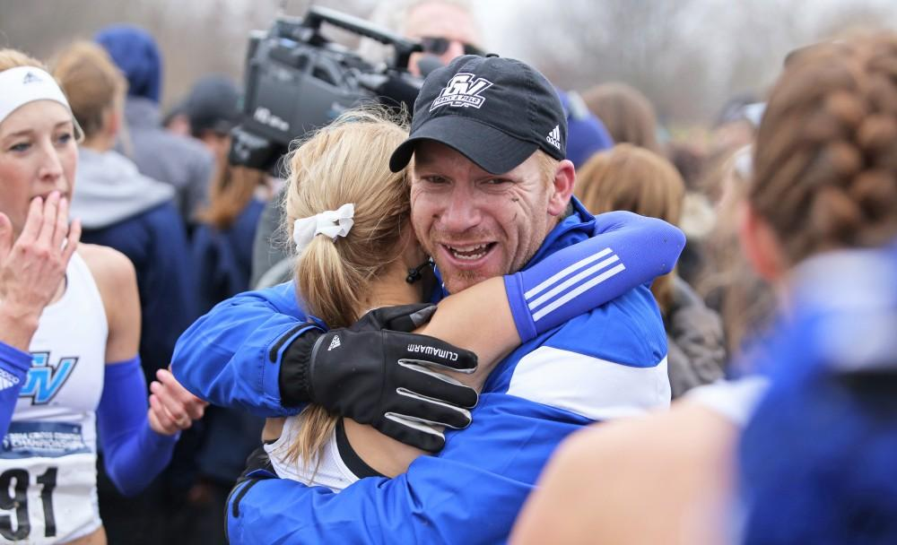 GVSU Track & Field head coach Jerry Baltes honored as USTFCCCA's Women's Coach of the Year