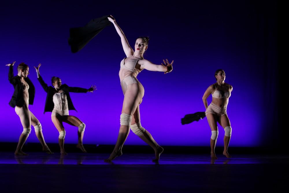 GVL / Emily Frye   GV senior dance recital rehearsal on Thursday November 30, 2017.