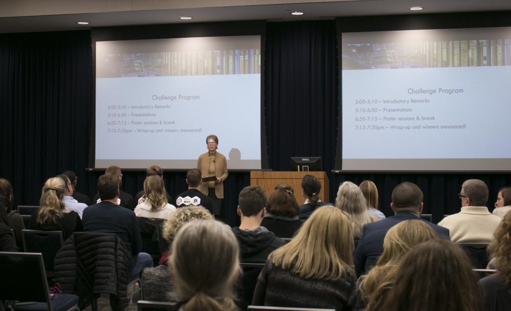 GVL/Hannah Zajac-- Laker Effect Challenge Event on Thursday 30th Nov 2017.