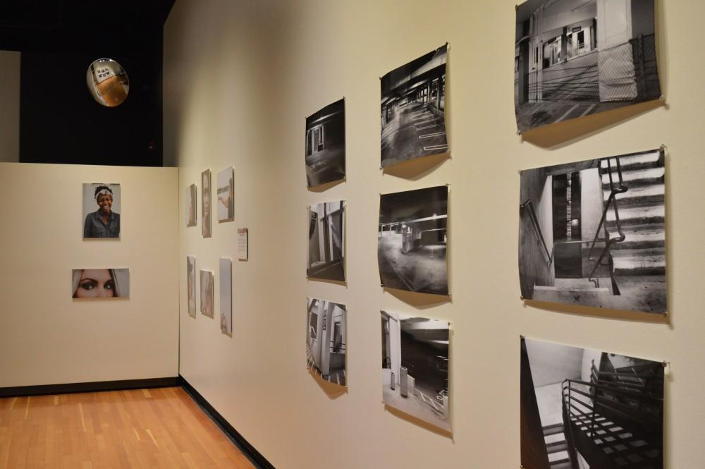 GVL/Hannah Zajac-- Five Chapters Photography Senior Exhibition in Haas Center for Preforming Arts on Tuesday 28 Nov 2017.