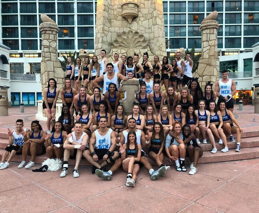 GVL / Courtesy - GVSU Cheerleading