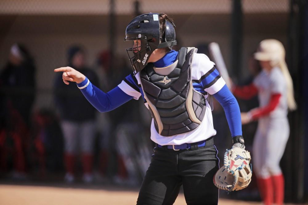<p>GVL / Emily Frye</p> <p><strong>Bittersweet</strong>: Despite their season ending earlier than expected, the 2018 Grand Valley State softball squad had quite the season.</p>