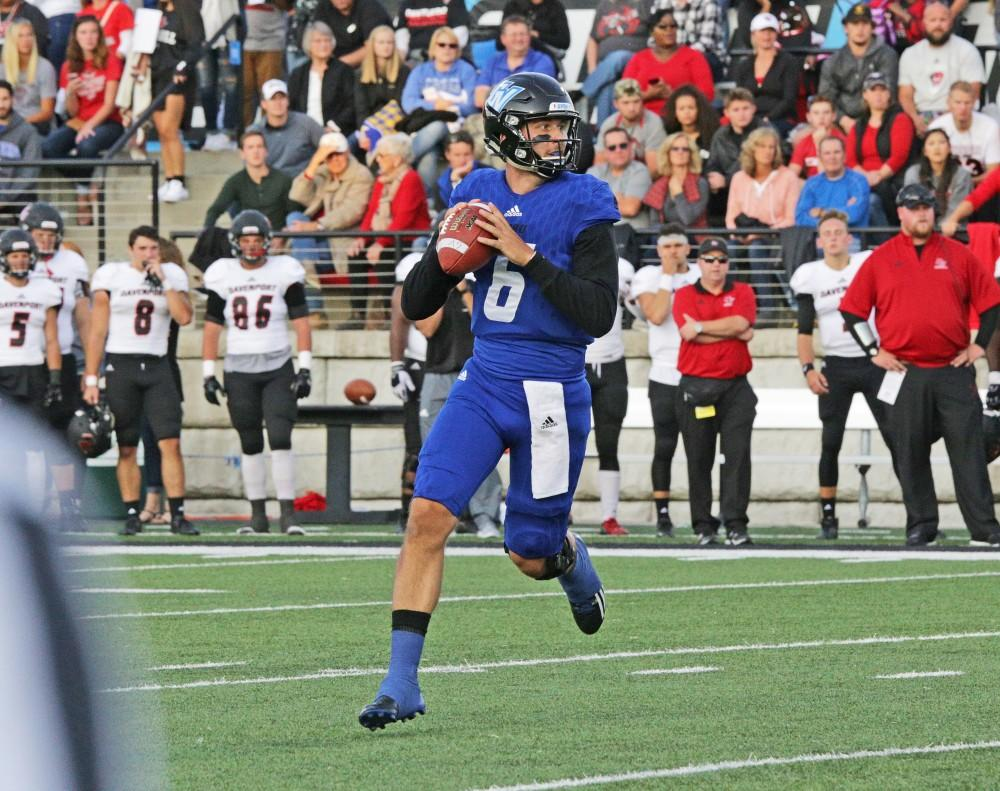 Eyes up: What lies ahead for GVSU's esteemed former quarterback