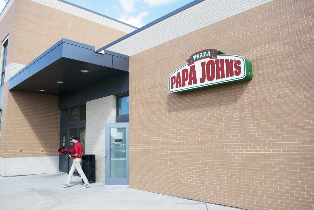 Grand Valley to cut business ties with Papa John's