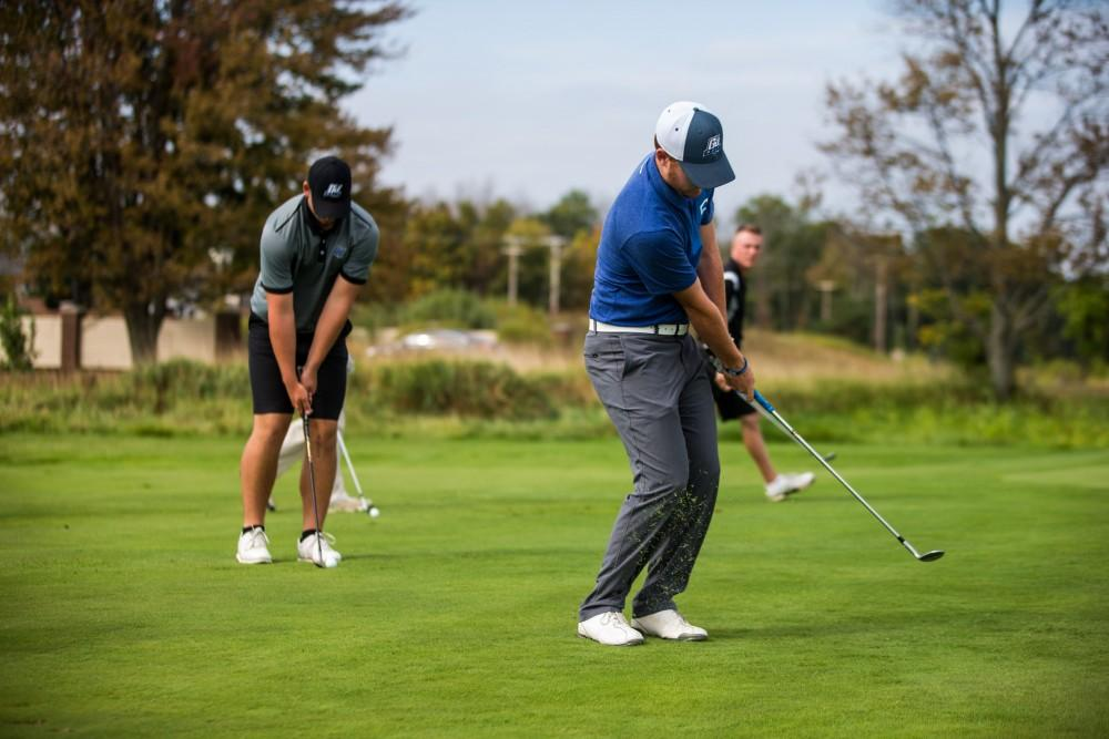 Bissell picks up first win as GVSU golf coach