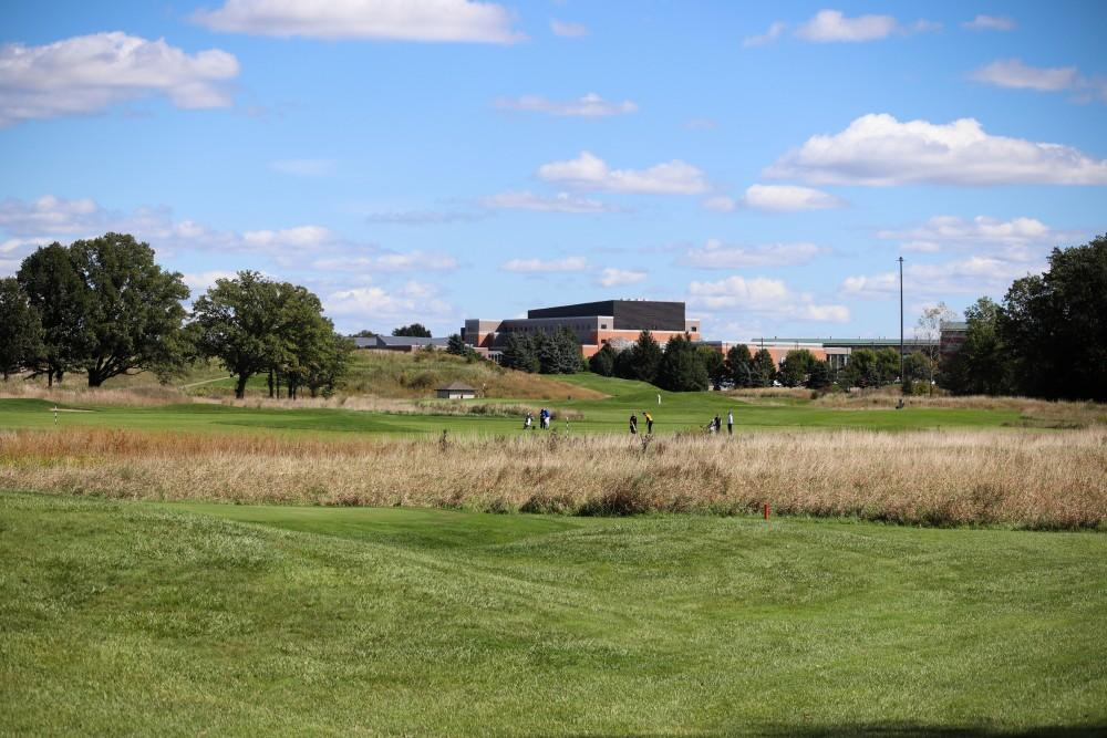 <p>GVSU Meadows golf course, September 29th 2018.  GVL/Katherine Vasile </p>