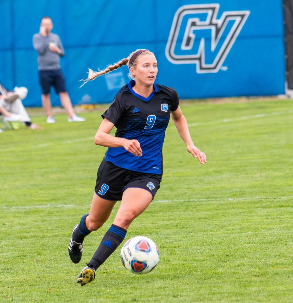 GVSU soccer's Dani Johnson looks to be 'brick wall' on defense