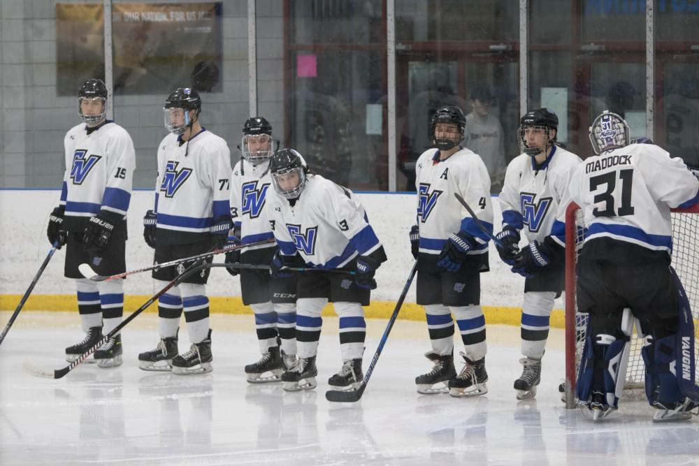 <p>1-11-19, Georgetown Ice Center, GVSU Men