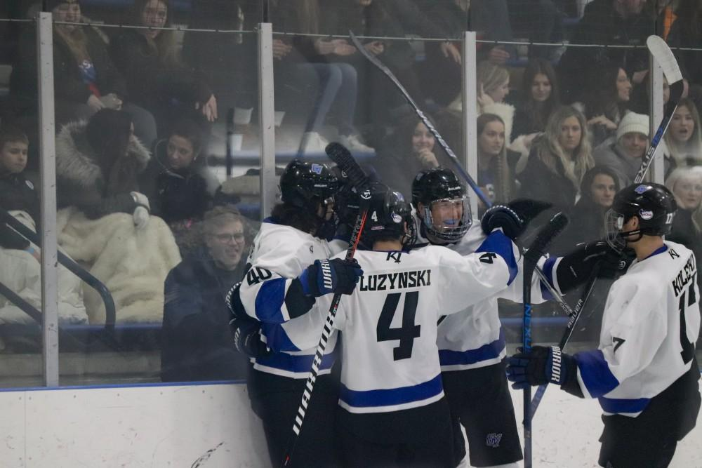 1-26-19, Georgetown Ice Center, GVSU vs. MSU Men's Hockey