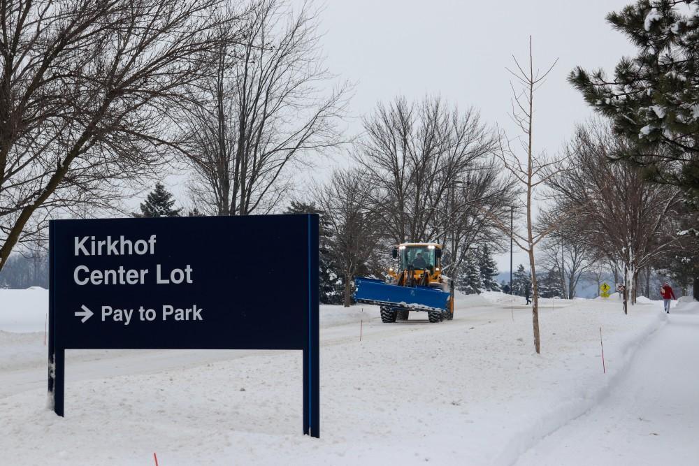 <p>2/2/19, GVSU Allendale Campus, Polar Vortex. GVL / Katherine Vasile</p>