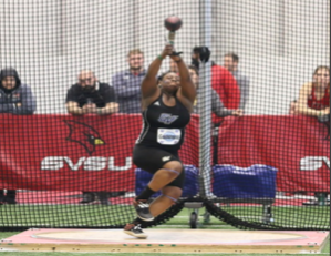 Senior thrower Bobbie Goodwin reflects on national championship, prepares for outdoor season