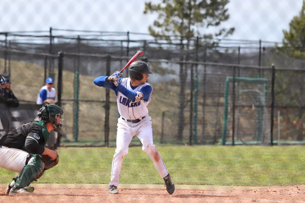 GVSU baseball loses two against Wayne State