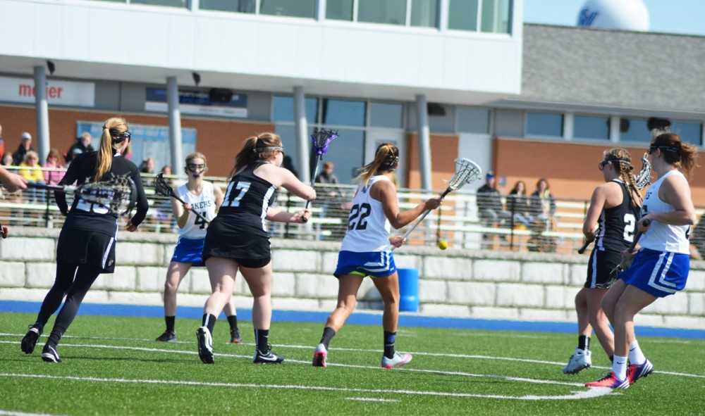GVSU lacrosse falls to UIndy, rebounds with win over McKendree