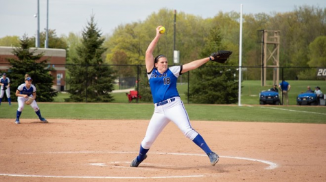 GVSU Softball beats Southern Indiana in Midwest Regional, advance to Super Regional