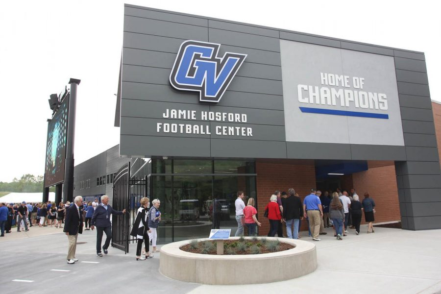 Home field advantage: Jamie Hosford Football Center opens for GV Football