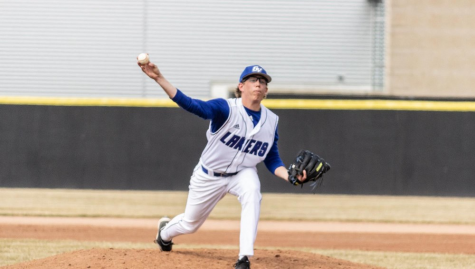 GVSU baseball rolls to weekend sweep of Wisconsin-Parkside