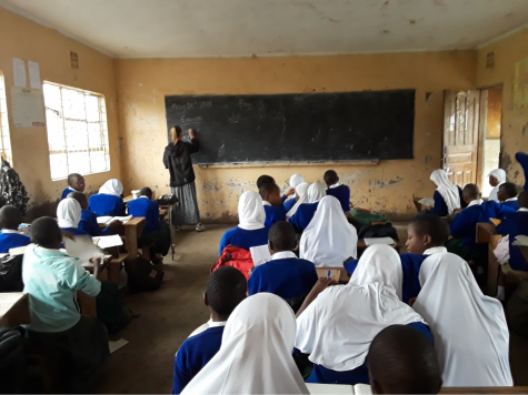 Teaching in Tanzania