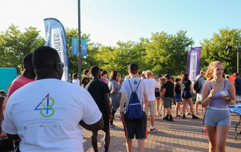 Student organizations welcome freshmen to campus