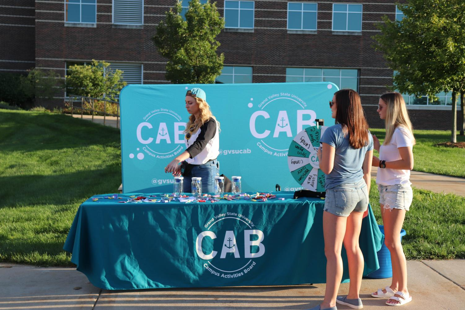 CAB prepared activites galore for the Laker Kickoff Party. GVL | KATHERINE VASILE