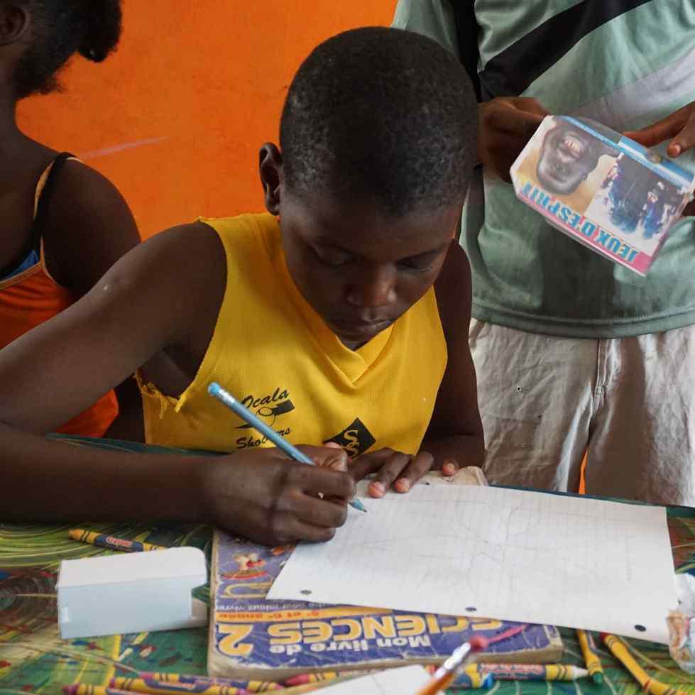 Haitian Art at Blue Wall Gallery. August 17th. Courtesy GVSU.