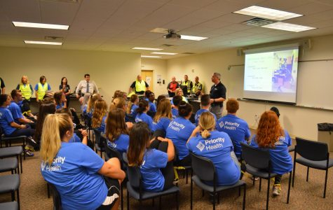 Law enforcement guides GV students through active shooter drill