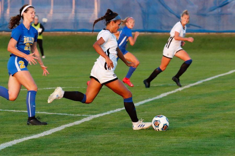 No. 1 Women's Soccer opens season 2-0, route Rollins, No. 6 Lee University