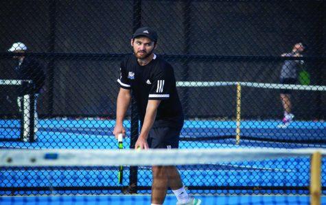 Men's Tennis impresses in singles as they prepare for the ITA Championships