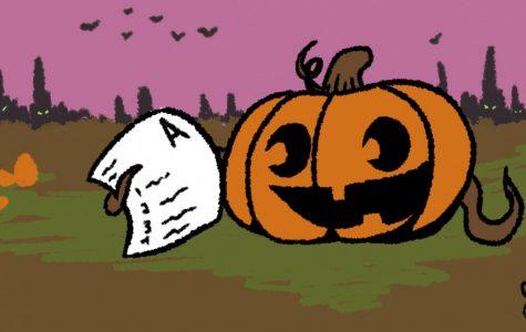 Halloween's on a school night