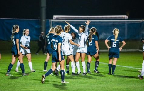 Well-oiled machine: GVSU Soccer overpowers Northwood in 3-0 win under the lights