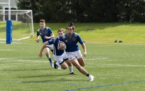 GV Rugby dominates SVSU in blowout win