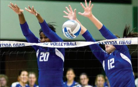 GVSU Volleyball dusts competition with back-to-back wins, hits milestone