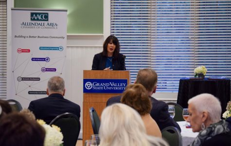 Allendale Area Chamber of Commerce welcomes President Mantella as keynote speaker