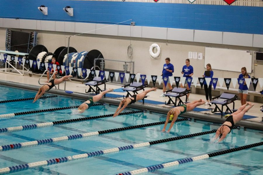 GVSU Swimming & Diving edges Ball State - Grand Valley Lanthorn