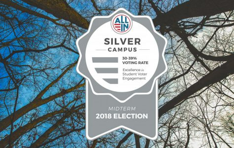 GV earns Silver Seal in campus voting