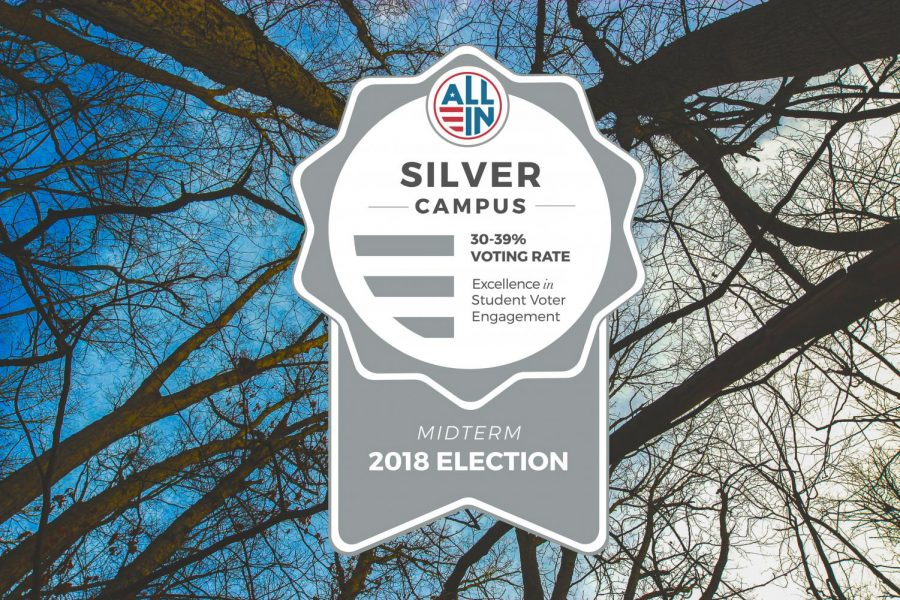 GV earns Silver Seal in campus voting - Grand Valley Lanthorn