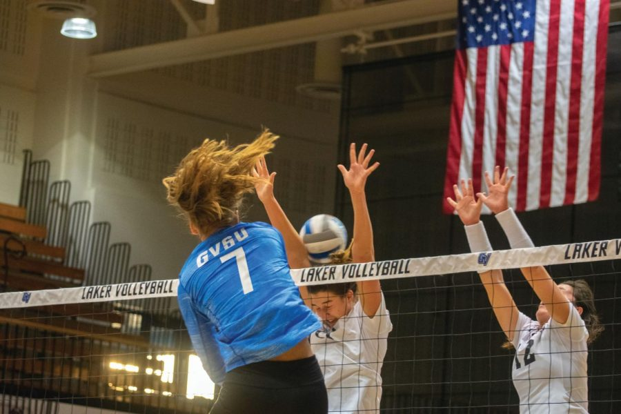 GVSU Volleyball drops final matches of regular season play - Grand Valley Lanthorn