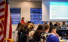 Student Senate readdresses Pledge of Allegiance, removes it from agenda