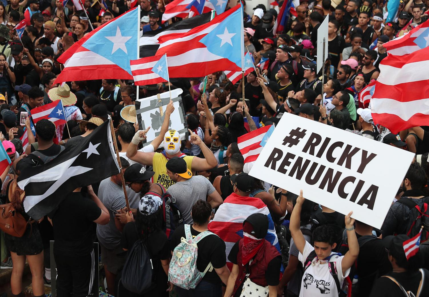 The anti-corruption protests that featured heavily in the Teach-In session
