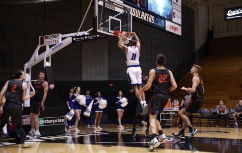 GVSU basketball bounces back from Ferris loss with key GLIAC win over LSSU