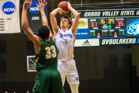 GV men's basketball team honored in GLIAC preseason poll