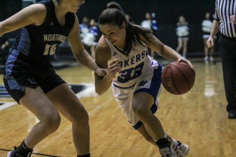 GVSU senior center Cassidy Boensch making a name for herself by dominating competition