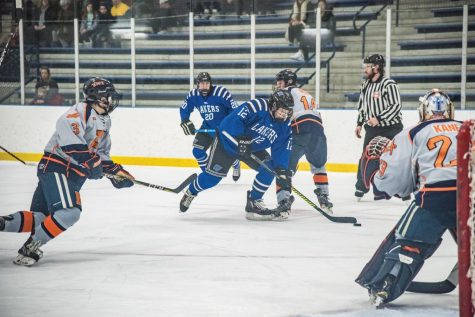 GVSU Men's DIII Hockey drops two tough losses to Hope College